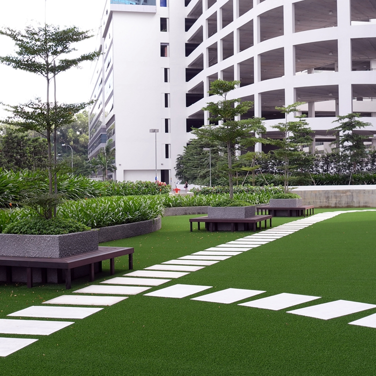Decoration Nature Green Garden Synthetic Artificial Turf Grass