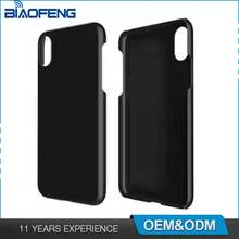 New Arrival Smartphone Custom PC Matt Protective Anti-scratch Slim Cell Phone Cover For iPhone X Case