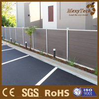 Foshan composite wood fencing - railing application