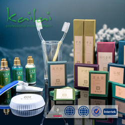Hotel guestroom airline SPA disposable products/toothbrush oral care/Bathroom Accessories Kit Factory
