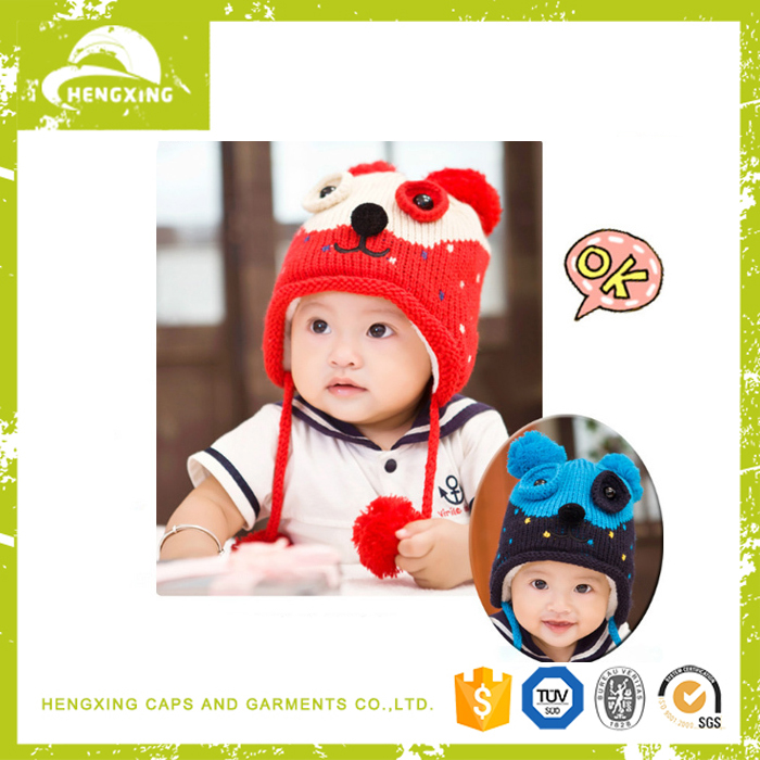 High Quality Cotton Hand Crocheted Beanie Baby Hat
