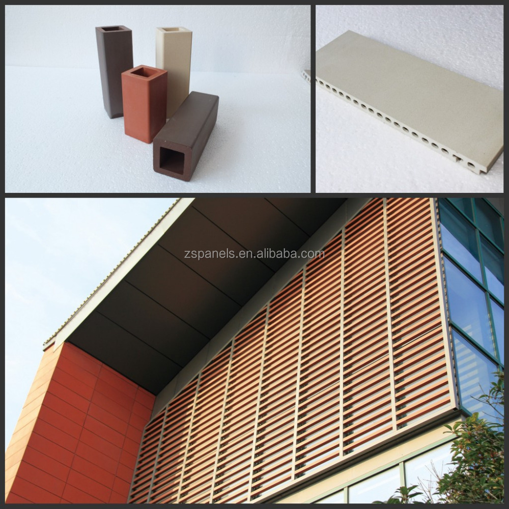 New technology ceramic tiles for external wall decoration facade panel klinker bricks