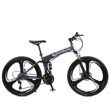 In India Best Sell Plastic Pedal Double Disc Brakes 3 Spoke Wheel Mountain Bicycle
