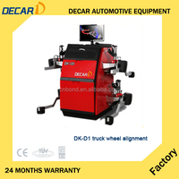 CE approved 4 wheel alignment machine for truck/cars/buses