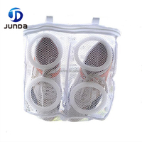 Custom Wholesale Hanging Mesh Sneaker Tennis Sports Shoes Laundry Wash Bag