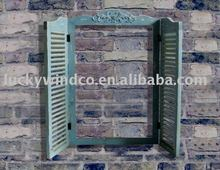 price of antique designs blue painted wooden window frame