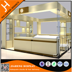 Led light used jewelry kiosk mall retail kiosk for sale