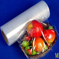 High quality LLDPE Stretch film/LLDPE wrap film/LLDPE Cling film for packing food factory price