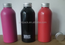 400ml food grade aluminum bottle with paint
