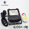 2.4g Milight Wifi Control Or Rgbw 4-zone Remote Led Controller 10w 20w 30w 50w Flood Light Lamp 220v