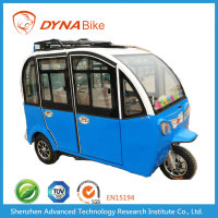 Hot Selling NOAH T2 Model Brushless Gear Motor Enclosed Electric Tricycle