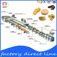 Fortune chocolate Biscuit Food Machine/professional milk Snack Machines/automatic cookies making machine