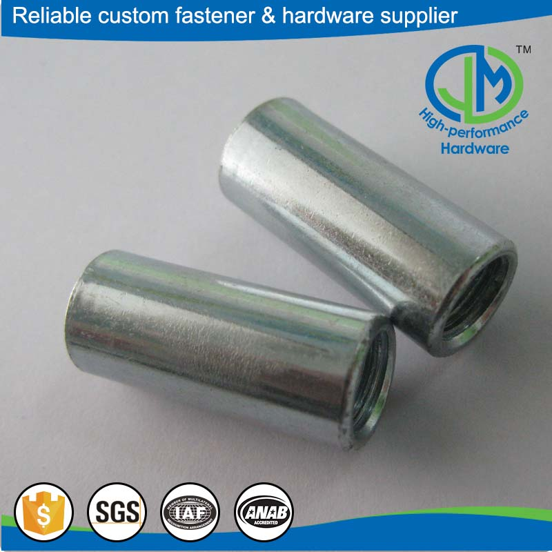Best quality round slotted furniture insert nuts