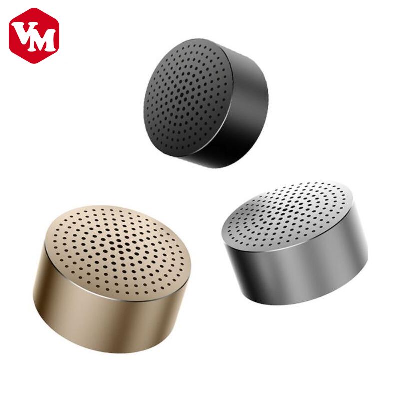 Original Xiaomi Portable Speaker Metal Steel Ultra Car Speakers Xiaomi Mini Wireless Bluetooth Handfree Audio Player Speaker