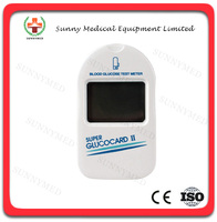 SY-G025 Hot sale medical blood test meter glucometer brands glucometer price