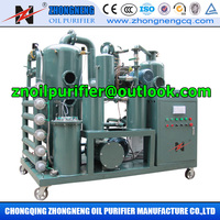 Transformer Oil Purifier System/Used Insulation Oil Disposal Machine/ Recover Dielectric Strength