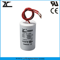 YF Brand AC Motor Capacitor with UL, CQC & CE Approval(CBB60, CBB61 & CD60 Models)