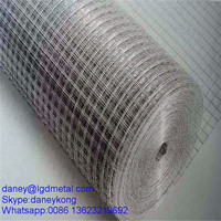 "Welded Wire Mesh 1/2"" x 1/2"" x 36"" x 30m 22 gauge Aviary Cage Birds small animals Rabbit Cage Wire 052D"
