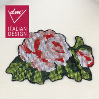 New design embroidery cross-stitch flower patch