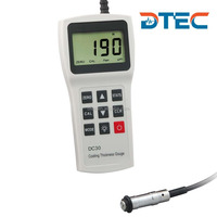 DTEC DC30F Digital Coating/Painting Thickness Gauge with Data Pro Software,Measuring Rang:0-3000um,Best-selling Gauge