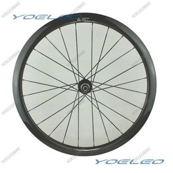 2015 Best Carbon Clincher 38mm Recumbent Bike Wheels With Disc Brkae
