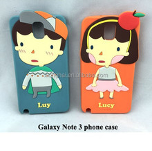 Silicone Phone Case for Galaxy Note 3