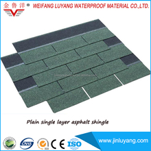 cheap price colorful asphalt roofing shingle for log cabin