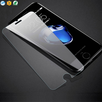 cell phone clear screen protector anti-fingerprint tempered glass screen protector for iphone 8