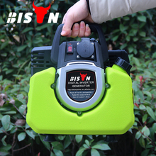 BISON(CHINA) 1000 Watt Portable Mini Electric Start 220v Portable Inverter Generator