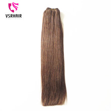 hair weft 20inch 100g 4# double drawn human hair weave