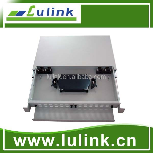 Draw type/Sliding type 19-inch,24 core fiber patch panel,ODF/optical distribution frame