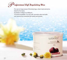 2014 best selling! pink hair removal wax depilatory wax 400g or 800g metalcan/natural depilatory wax/hair removal soft wax