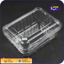 OEM Food Grade PET Plastic Material Clamshell Packaging for Fruit And Food