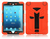 Popular design ruuged case for iPad mini with strong kickstand build in screen protector