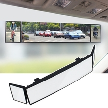 Wholesale Car Accessories Three-Fold Curve Surface Car Rear View Mirror Reverse Wide Angle Adjustable Blind Area Auxiliary