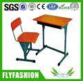 SF-08S Hot Sale Classic Design Factory Price Single Student Desk and Chair/Used School Furniture for Sale/Adjustable Chair Desk