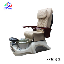 2017 nail salon furniture new model whirlpool pipeless pedicure foot spa massage chair s820