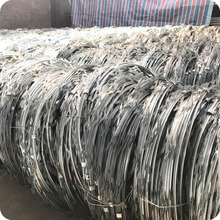 Hot-dip Galvanized Concertina Razor Ribbon Barbed Wire Length Price Per Roll