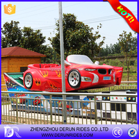 top fun!fairground ride children game machine family rides mini flying spin car, spin car rides for family play