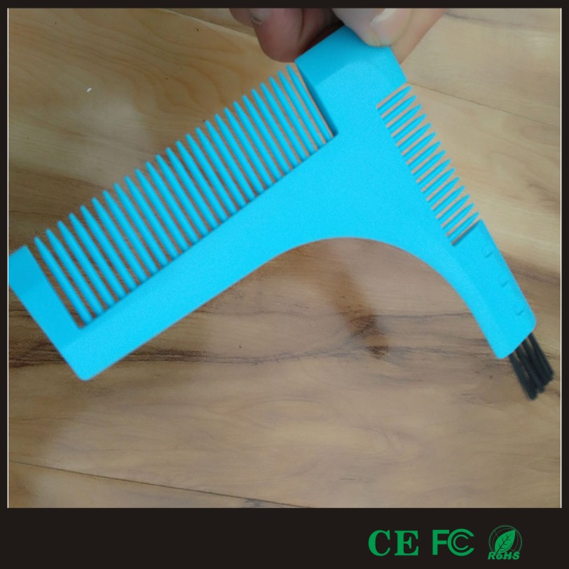 Highly recommended convenient beard comb with brush