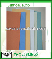 Block Out Colored Vertical Blind Fabric For Office Windows