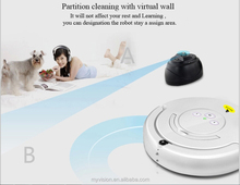 Eworld robot vacuum cleaner without bag, electric sweeper with sweeper brush