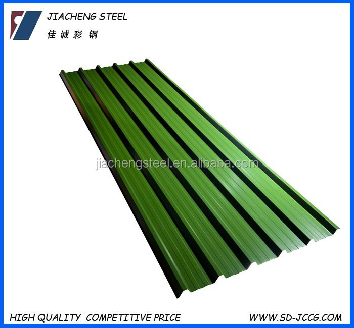 ppgi/ppgl/color coated galvanzied corrugated sheet for roofing