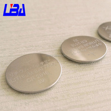 Eco - Friendly 3V 90mAh CR2016 Button Batteries Li-Mno2 Coin cell