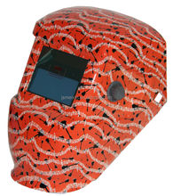 Red colour black beating note painted shade control auto darkening welding helmets