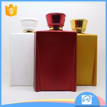 A2867-100ml wholesale simple design opaque rectangular perfume spray bottle