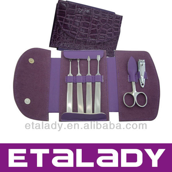 Professional manicure set bag pedicure kits manucure