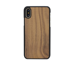 Luxurious Wood Phone Case for Iphone X,low price DIY Free logo wood case