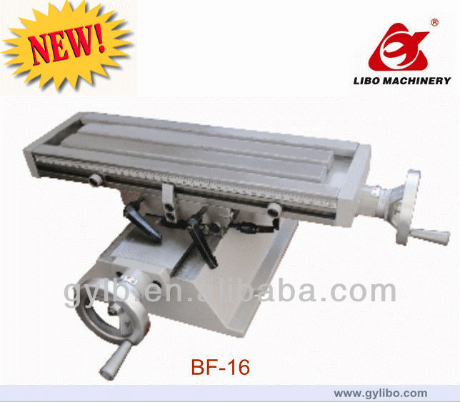 BF-16 Cross Slide Table/X-Y Table for milling and drilling machine