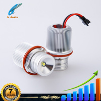 Good quality e39 10w angel eyes LED Marke Ring Marker Bulbs for BMW 5 6 7 Series X3 X5